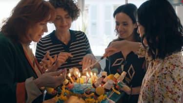 """Eva Darlan, Constance Dollé, Amelle Chahbi et Linh-Dan Pham, quatre des actrices de """"Faites des gosses"""""""