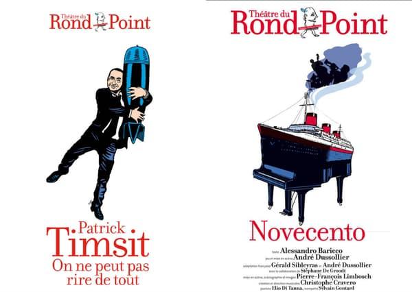 Des affiches de Stéphane Trapier pour le Théâtre du Rond-Point