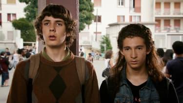 """Les deux héros du film """"Les beaux gosses"""""""