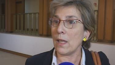Marie-Noëlle Lienemann n'a pas caché son émotion après la réunion des sénateurs PS avec Manuel Valls.