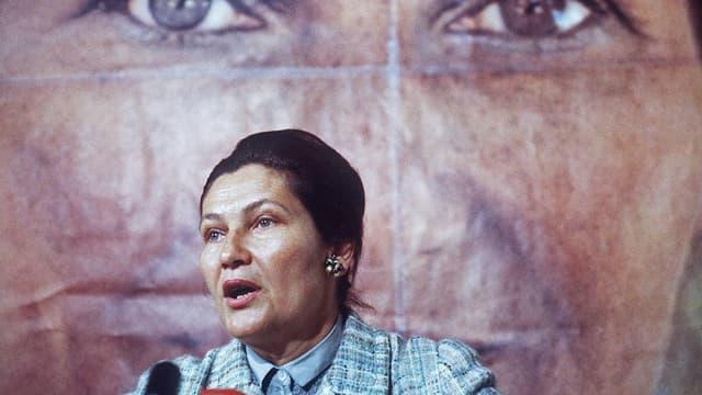 Simone Veil en 1979.