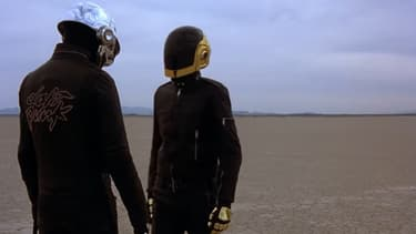 "Daft Punk dans le film ""Electroma"""