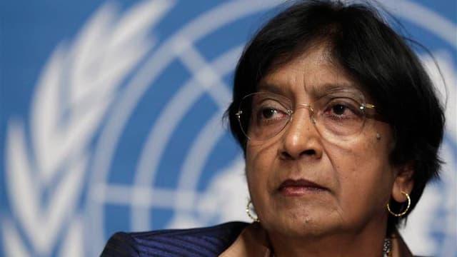 Navi Pillay, Haut commissaire des Nations unies aux droits de l'homme, a déclaré que la Syrie était au bord d'une guerre civile et que les accrochages y avaient fait environ 4.000 morts depuis le début du mouvement de contestation contre le président Bach