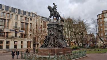 La statue du général Faidherbe, à Lille.