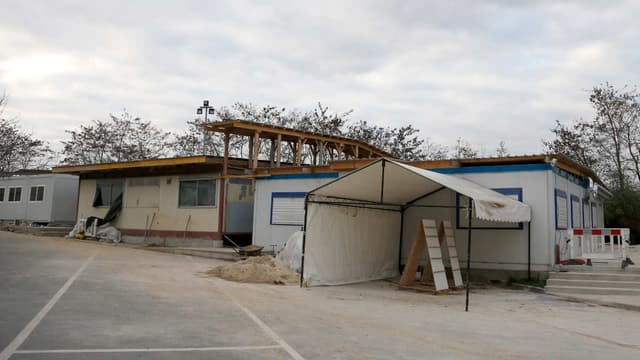 """Vue partielle de la mosquée de Lagny-sur-Marne, fermée en décembre 2015 car considérée comme """"un foyer d'idéologie radicale""""."""