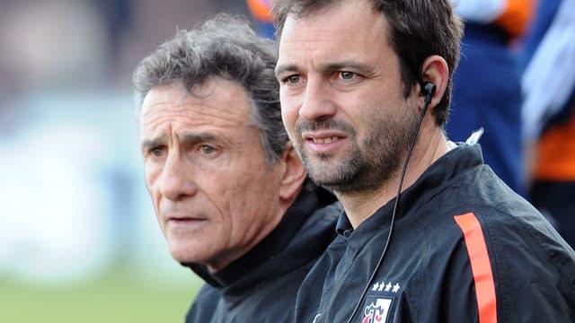 Guy Novès et Jean-Baptiste Elissalde