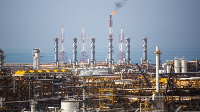Site pétrolier de Kangan.