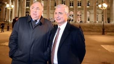 Gérard Larcher et Claude Bartolone
