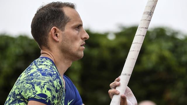 Renaud Lavillenie est de retour à la compétition après sa longue blessure, et à quelques mois du championnat du monde.
