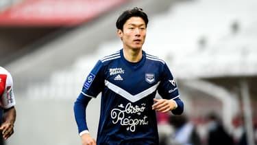 Ui-Jo Hwang avec Bordeaux