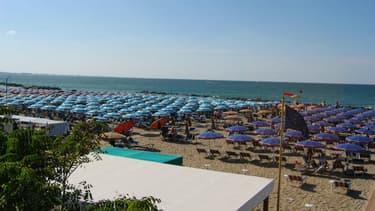 Une plage d'Italie (photo d'illustration).