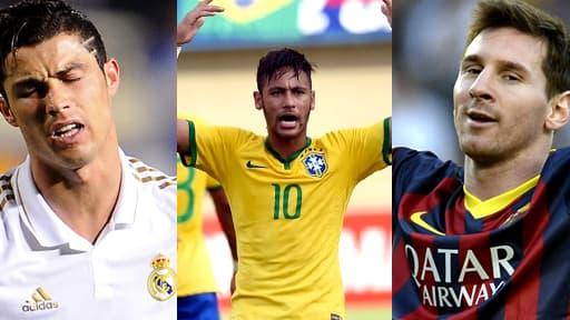Ronaldo, Neymar, Messi, une attaque à 280 millions d'euros.