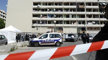 La police enquête sur un meurtre le 24 avril dernier à Marseille (PHOTO D'ILLUSTRATION)