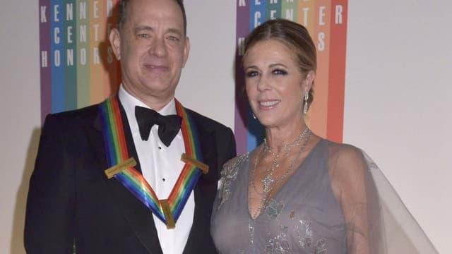 Tom Hanks et Rita Wilson à Washington en décembre 2014