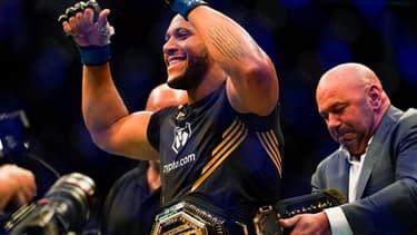 Ciryl Gane champion intérimaire de l'UFC