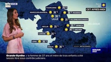 Météo: un soleil de plomb et des températures qui s'enflamment ce vendredi dans la région lilloise avec pas moins de 36°C