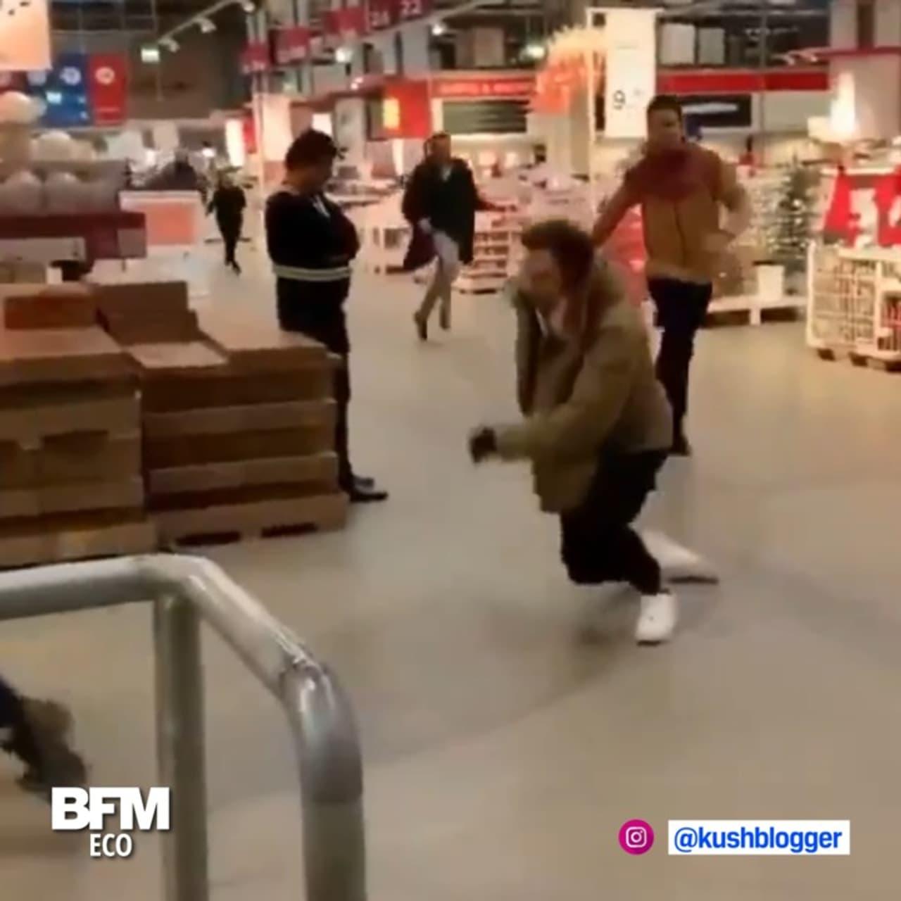 Émeutes chez Ikea pour la collection Virgil Abloh