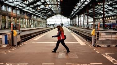 Le trafic des trains était fortement perturbé ce jeudi (ici la Gare de Lyon).