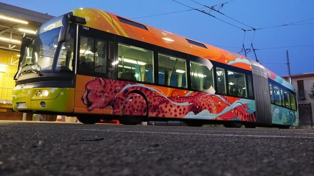 Ce bus unique circule depuis ce mercredi sur la ligne C3.