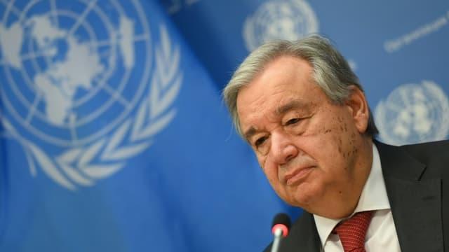 Antonio Guterres le 4 février 2020 à New York