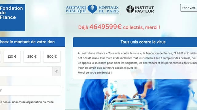 Plus de 4,5 millions d'euros récoltés par la Fondation de France