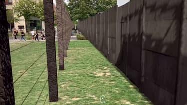 Le mur de Berlin, en réalité augmentée.