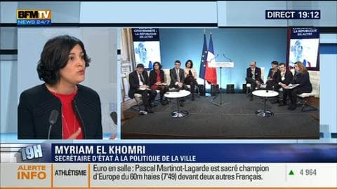 Myriam El Khomri face à Laurent Neumann