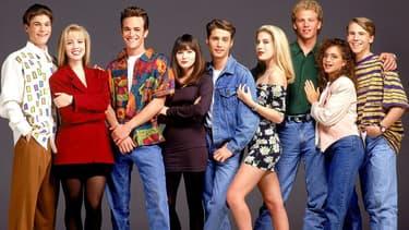 "Le casting d'origine de ""Beverly Hills 90210"""