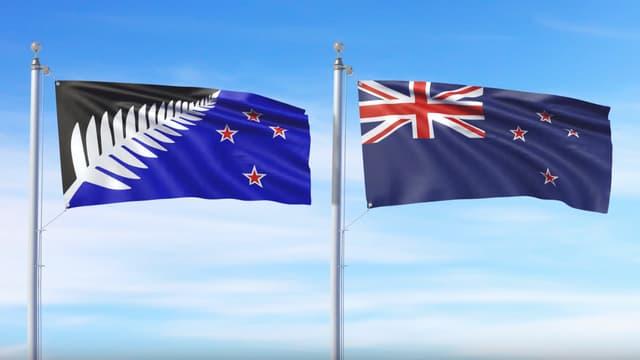 Les Néo-Zélandais ont le choix de garder l'actuel drapeau national.