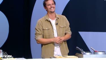 """Juan Arbelaez sur le plateau de """"Quotidien"""" le 4 septembre 2020"""
