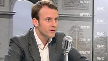 Le ministre de l'Economie, Emmanuel Macron, était l'invité de Jean-Jacques Bourdin ce 7 novembre sur RMC-BFMTV.