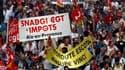 Défilé à Marseille lors de la journée de grèves et de manifestations de mardi contre le projet de réforme des retraites. Malgré la pression accrue des syndicats, la mobilisation contre ce texte a peu de chances d'aboutir à une crise sociale mais Nicolas S