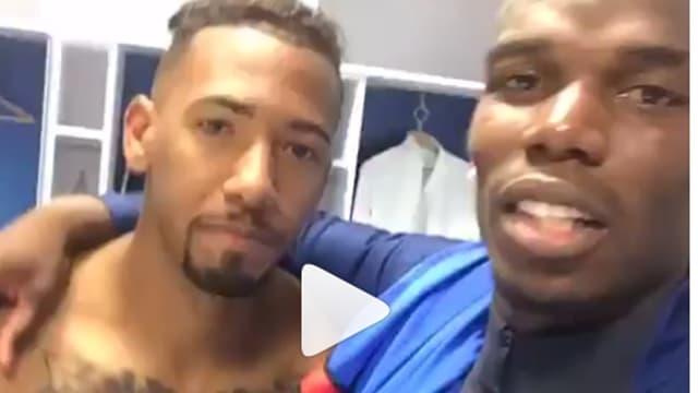 Paul Pogba et Jerome Boateng