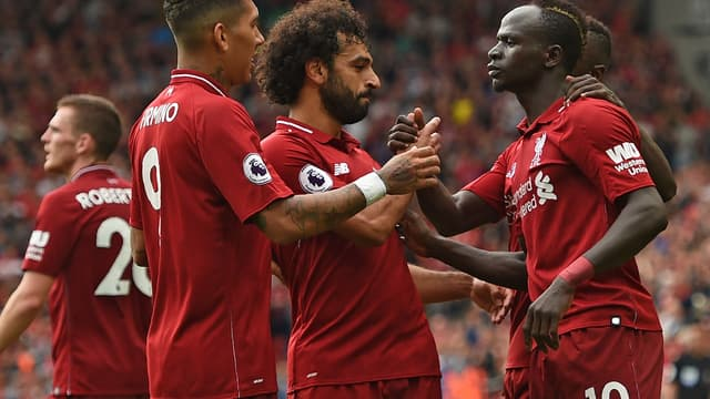 Firmino, Salah et Mané (Liverpool)