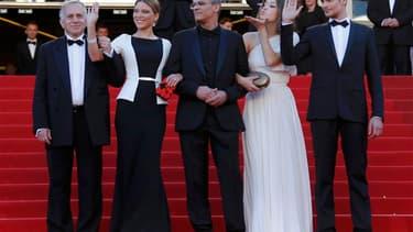 """La Palme d'or du 66e Festival de Cannes a été décernée dimanche soir à """"La vie d'Adèle - Chapitre 1 & 2"""", d'Abdellatif Kechiche, une romance lesbienne entre deux jeunes filles."""