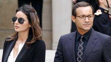 Anissa et Jean-Luc Delarue en juin 2011