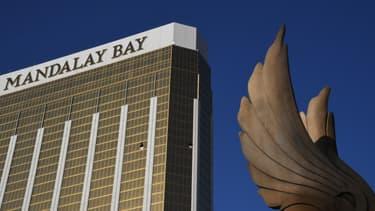 L'hôtel Mandalay Bay, à Las Vegas.