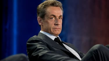 Nicolas Sarkozy, lors d'un meeting en 2015 (photo d'illustration)