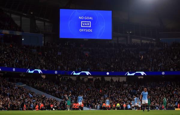 L'intervention du VAR offre la qualification à Tottenham contre Manchester City en avril 2019