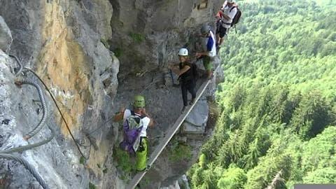 Une semaine en montagne: la Via Ferrata en Haute-Savoie
