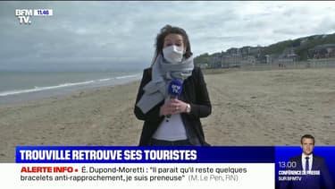 Calvados: Trouville-sur-Mer retrouve ses touristes