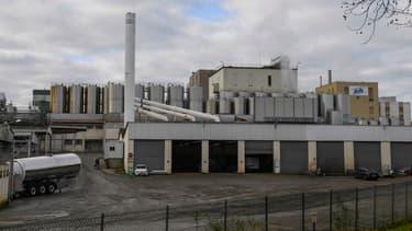 L'usine Lactalis de Craon en Mayenne, qui aurait été contaminée, selon le groupe.