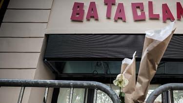 La nouvelle façade du Bataclan, le 1er novembre 2016.