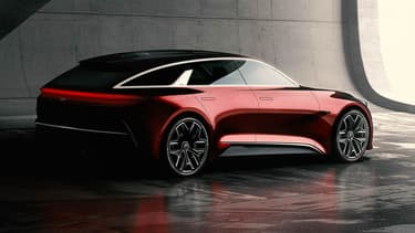 Un break de chasse, une silhouette qui pourrait compléter la gamme Kia dans les années à venir.