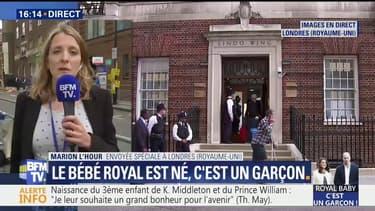 Attroupements à Londres pour l'arrivée du Royal Baby