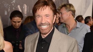 Chuck Norris en 2012