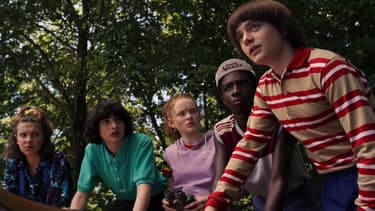 """Les acteurs de """"Stranger Things"""""""