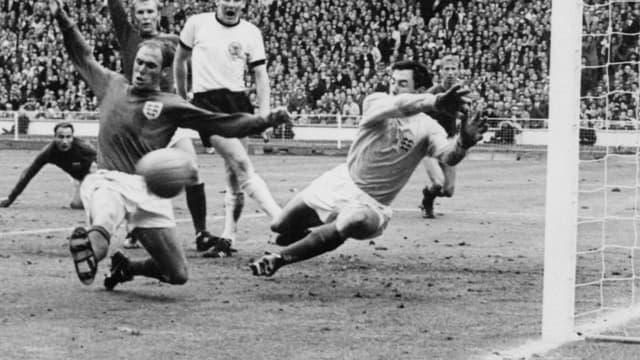 Gordon Banks lors de la Coupe du monde 1966