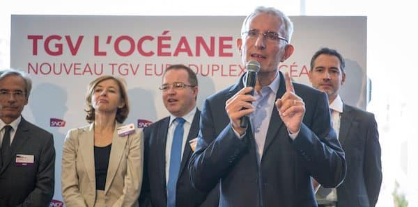 En septembre 2016, Guillaume Pépy, patron de la SNCF, dévoilait les nouveaux TGV L'Océane. Au final, ils seront InOui.