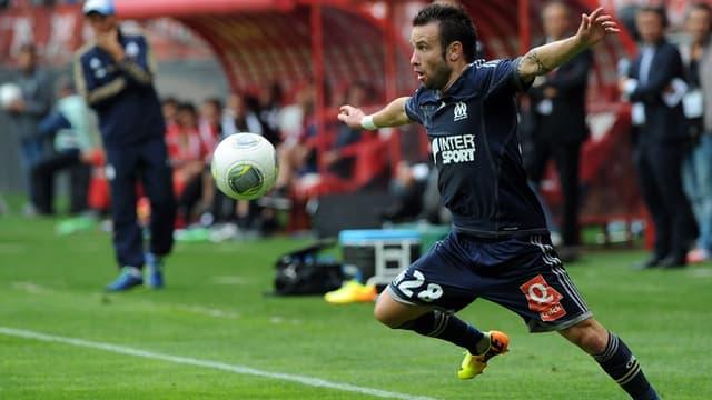 Mathieu Valbuena face à Valenciennes